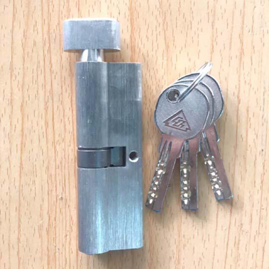bán ruột khóa cửa nhựa 1 đầu chìa