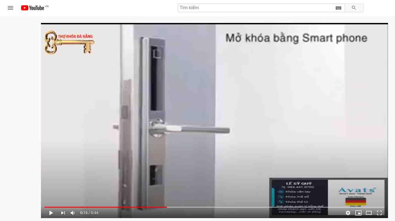 khóa điện tử dành cho cửa nhôm