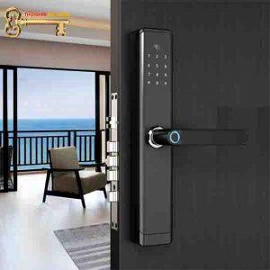 khóa thẻ từ cho cửa gỗ