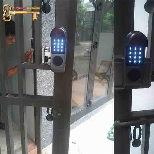 Khóa vân tay 2 Chiều cho cổng sắt VR-1200B
