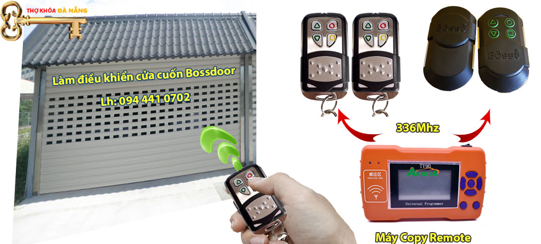 remote Bossdoor làm thêm