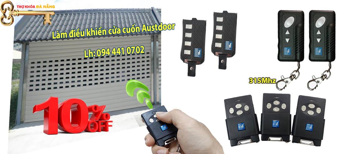 ddielamf điều khiển cửa cuốn austdoor 3 nút, điều khiển cửa cuốn austdodor 4 nút