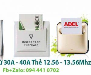 cung cấp công tắc tiết kiệm điện 12.56 – 13.56 loại 30A – 40A